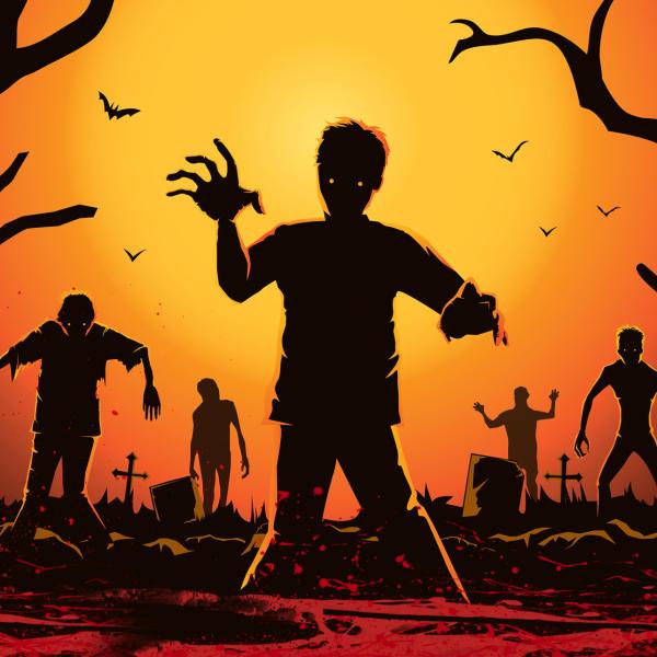 Хэллоуин в плейлофте GaGa: Зомби-апокалипсис