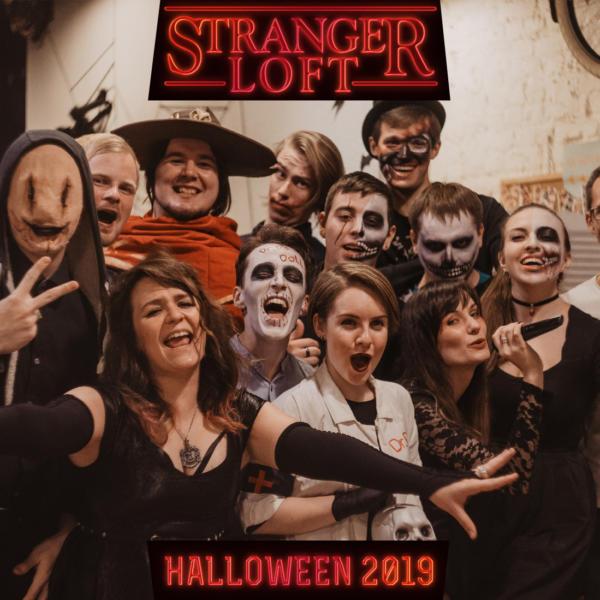 Хэллоуинская ночь: STRANGER LOFT